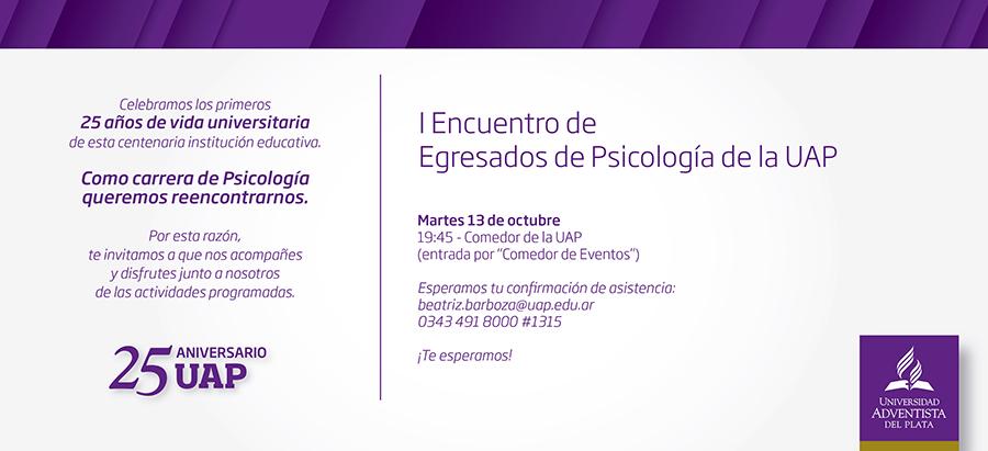 Encuentro De Egresados De Psicología De La Uap Biblioteca